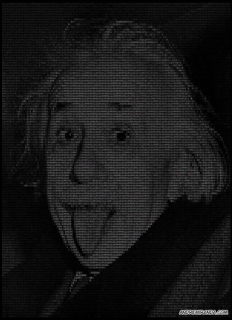 IMAGE ASCII Art - Einstein by andremirandarosa