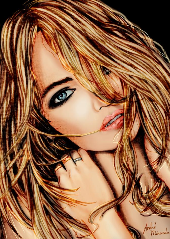 Girl by andremirandarosa