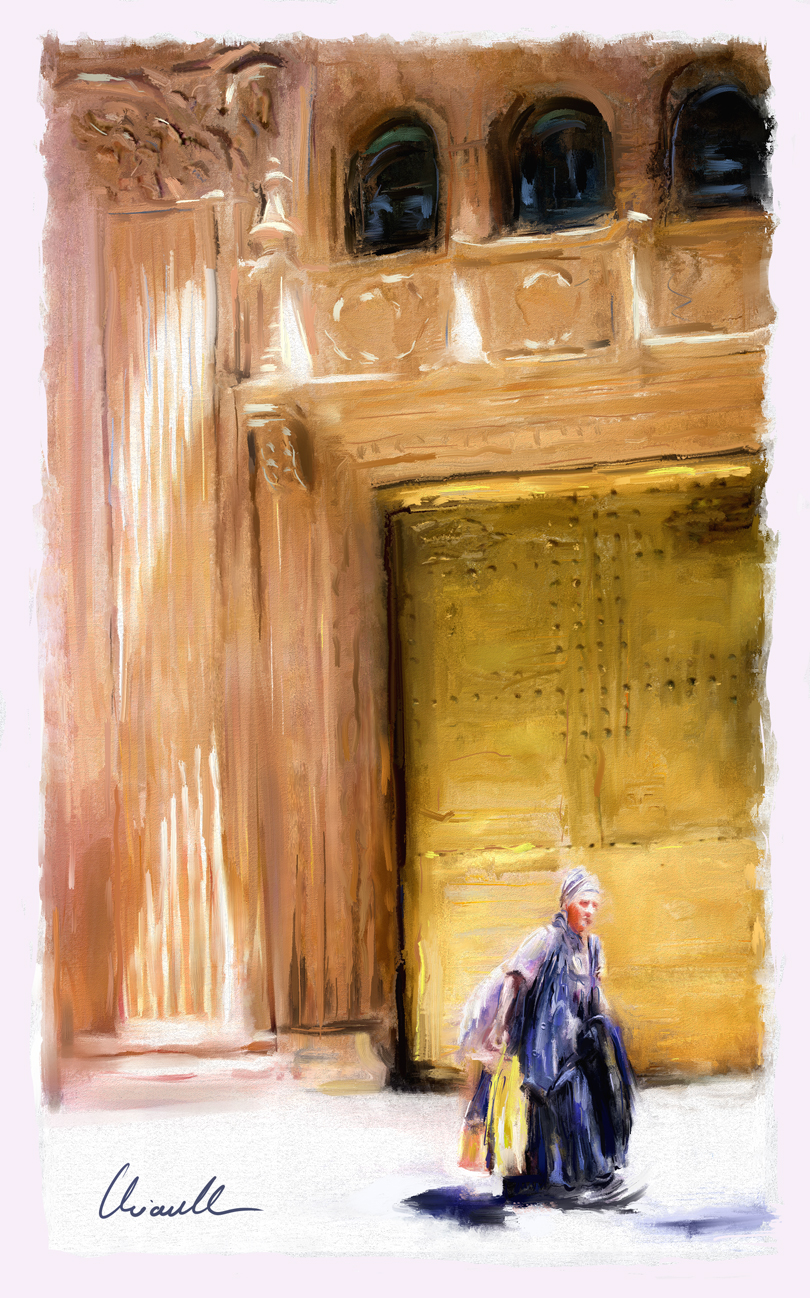 Lonely Walk by mchiarella