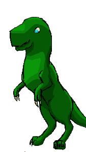 iscribble Dino by oh-2BEaTOA