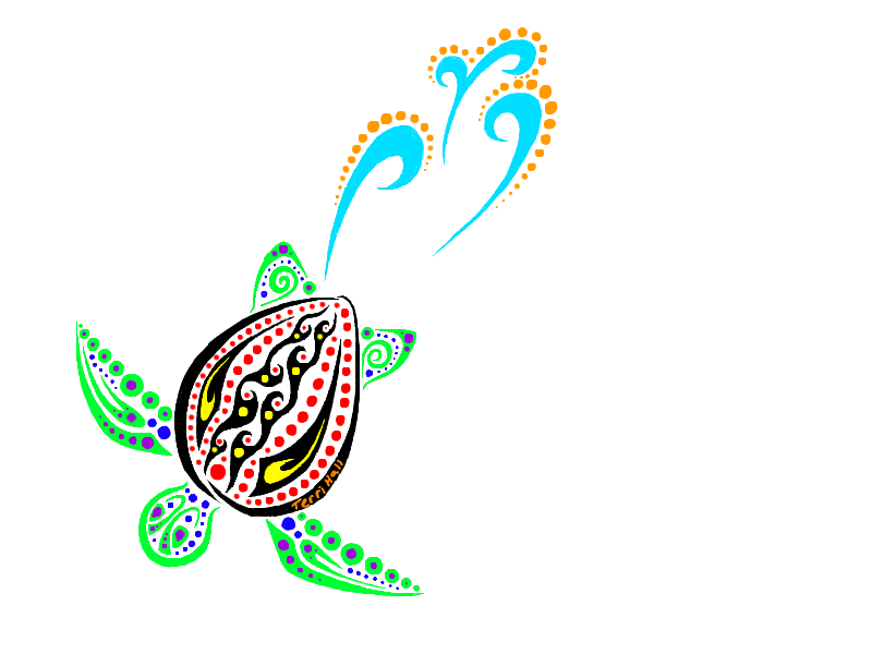 Tribal Turtle Commish By Oh 2BEaTOA On DeviantArt