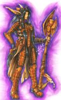 Warrior Queen of Spargas by DarkEcoKat