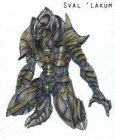 Sval Lakum the Arbiter by DarkEcoKat