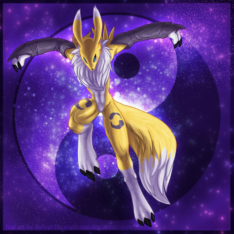 Renamon v2 HUD Cover by Night-eco