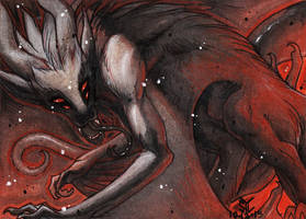 ACEO Commission - Ranhansya 1 of 2 by DarkEcoKat