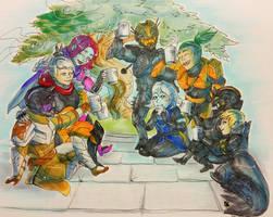 Destiny - The Raid Parade by DarkEcoKat