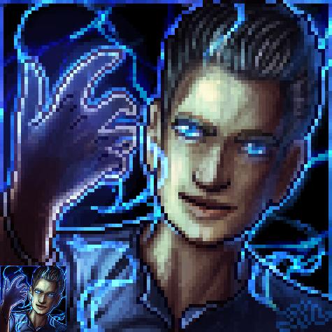 Thor Furcadia Portrait Commission by DarkEcoKat