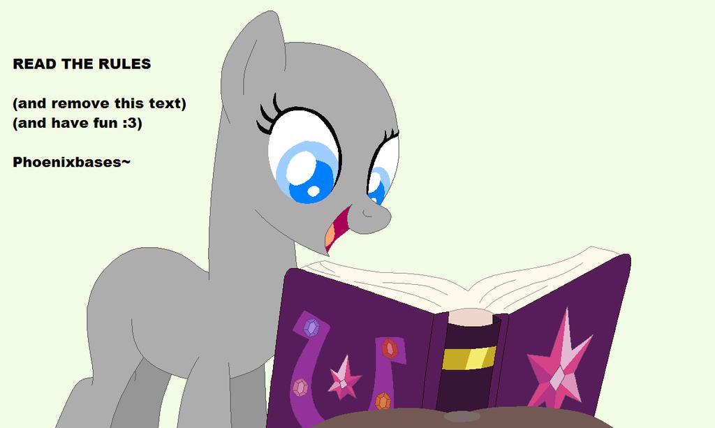 MLP Base: Dear Princess Celestia... By KIngBases On DeviantArt