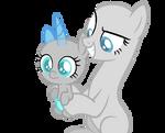 MLP Base: I got the ugliest ShiningDence foal ever