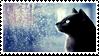 cat n rain -stamp ver- by KIngBases