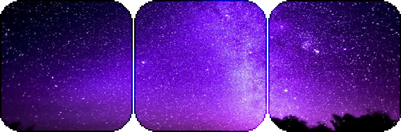 purple stargazing -decor- by KIngBases