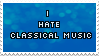 Anti classical music -stamp- by KIngBases