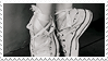ballet in sneakers -stamp-