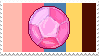 Steven Quartz Universe gem -stamp- by KIngBases