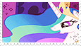 Princess Celestia -stamp- by KIngBases