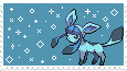 Glaceon -stamp- by KIngBases
