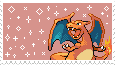 Charizard -stamp- by KIngBases