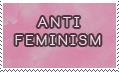 anti feminism -stamp-