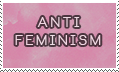 anti feminism -stamp- by KIngBases