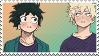 Bakudeku -stamp- by KIngBases