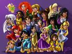 Disney Dolls Princesses