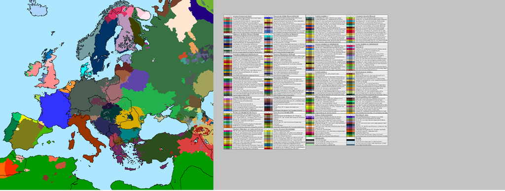 Language Map of Europe 1914 Version 1.0 by Thumboy21 on DeviantArt