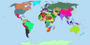 Map of the World - De Facto