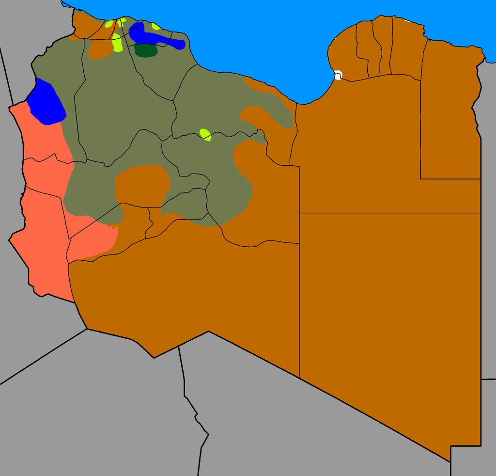 Libyan Civil War Map 20/2/2017 by Thumboy21 on DeviantArt