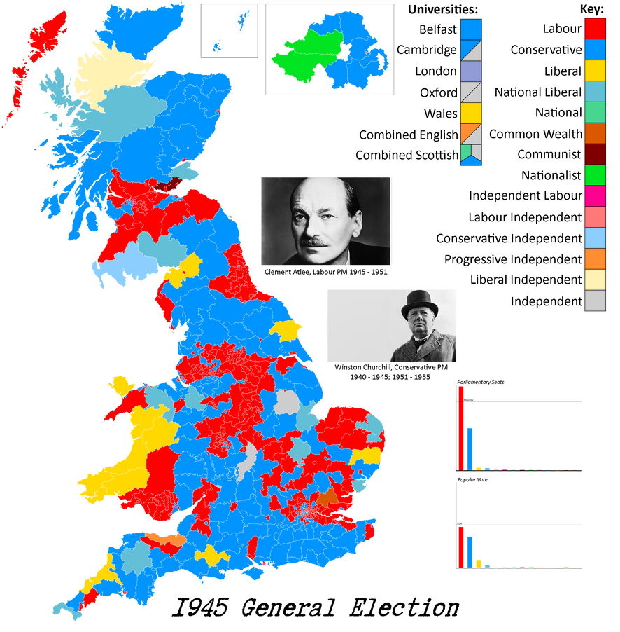 UK 1945 General Election Infographic by Thumboy21 on ...