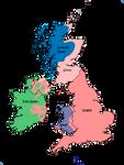Languages of the British Isles 1800