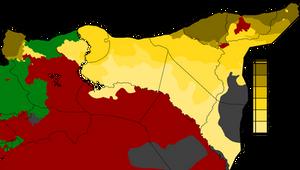 Rojava revolution by year
