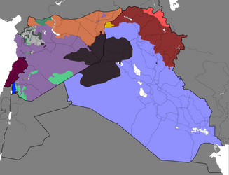 Syrian Civil War and spillovers: 15/10/2017