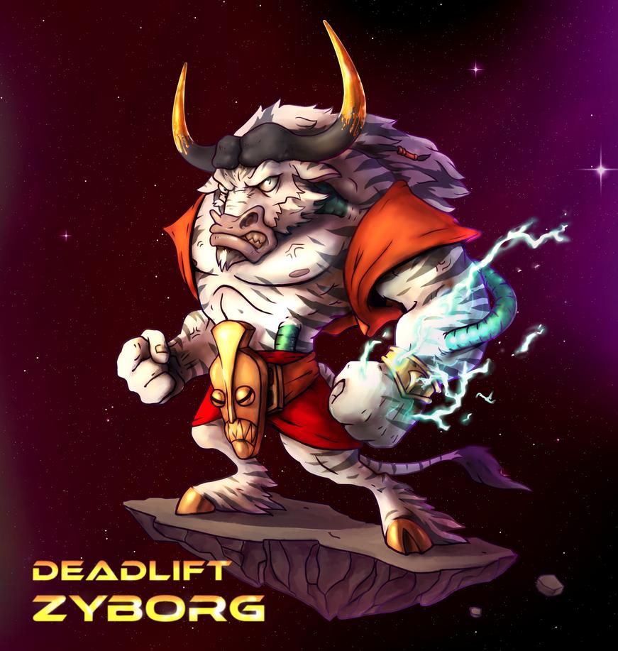Deadlift Zyborg by irismarra