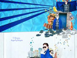 blue world by blackyaisa