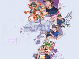Happy Birthday my biggest hero.. by blackyaisa