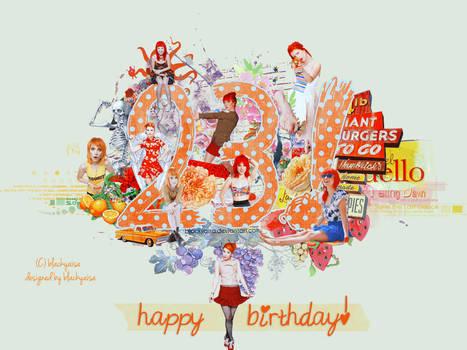 Happy Birthday yelyaH..