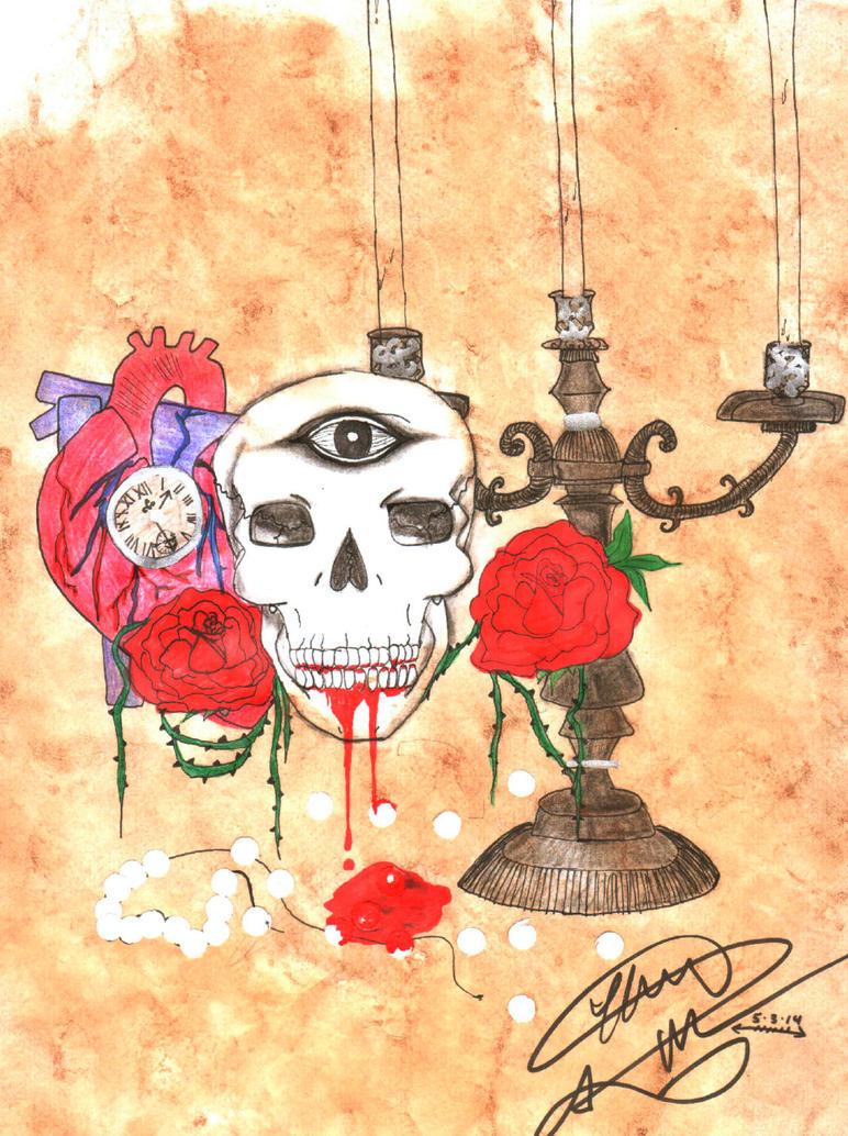 Memento Mori by DreamscapesandWishes