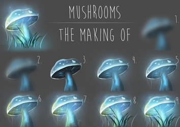 Glowing Mushroom Walkthrough by GreenRibena