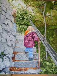 Big Steps, Little Feet by StewCrowther