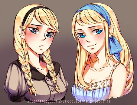 A Sibling Affair: Hairstyles -Elsa I-
