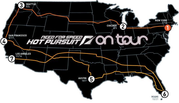 Nfs Hot Pursuit Spot On Tour Map By Mighoet On Deviantart