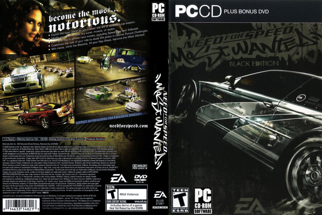 Need For Speed Most Wanted BE Complete Cover by Mighoet on ...