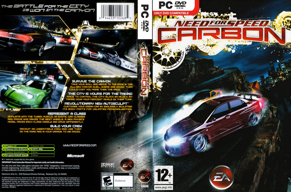 need for speed carbon free download for windows