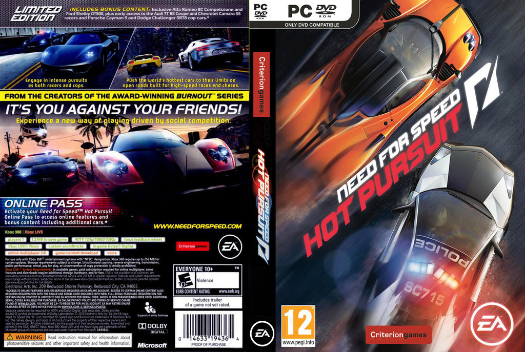 Need for speed hot pursuit open world