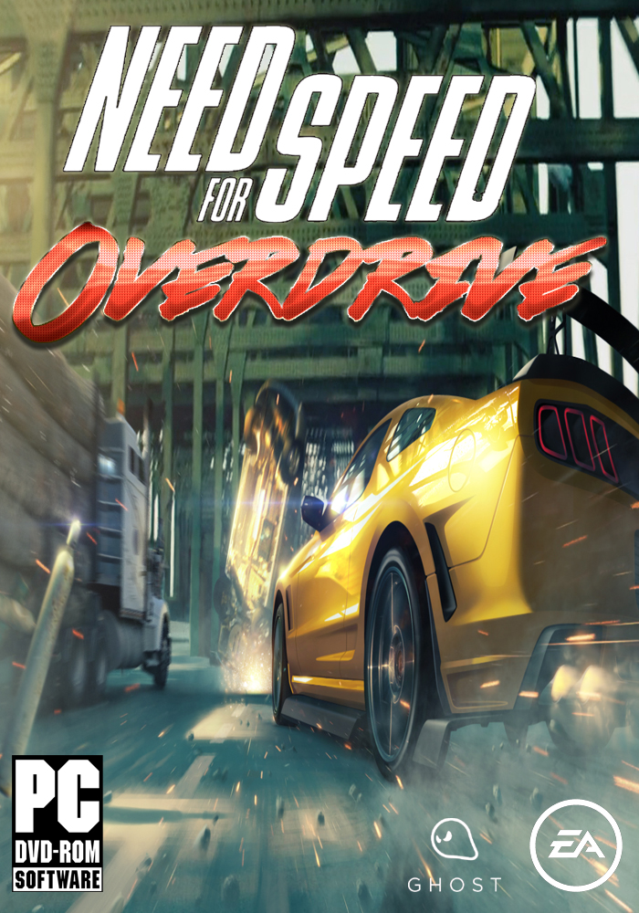 Need for Speed OverDrive Cover 2 (Tentative Title) by Mighoet