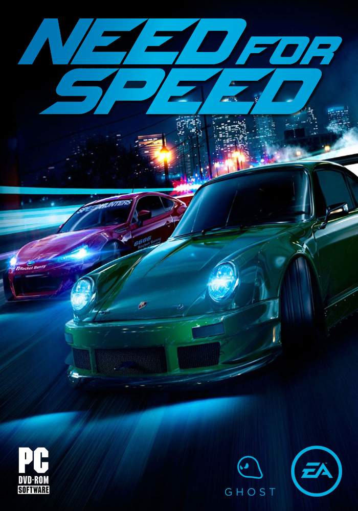 Need for Speed 2015 (My PC cover Design) by Mighoet