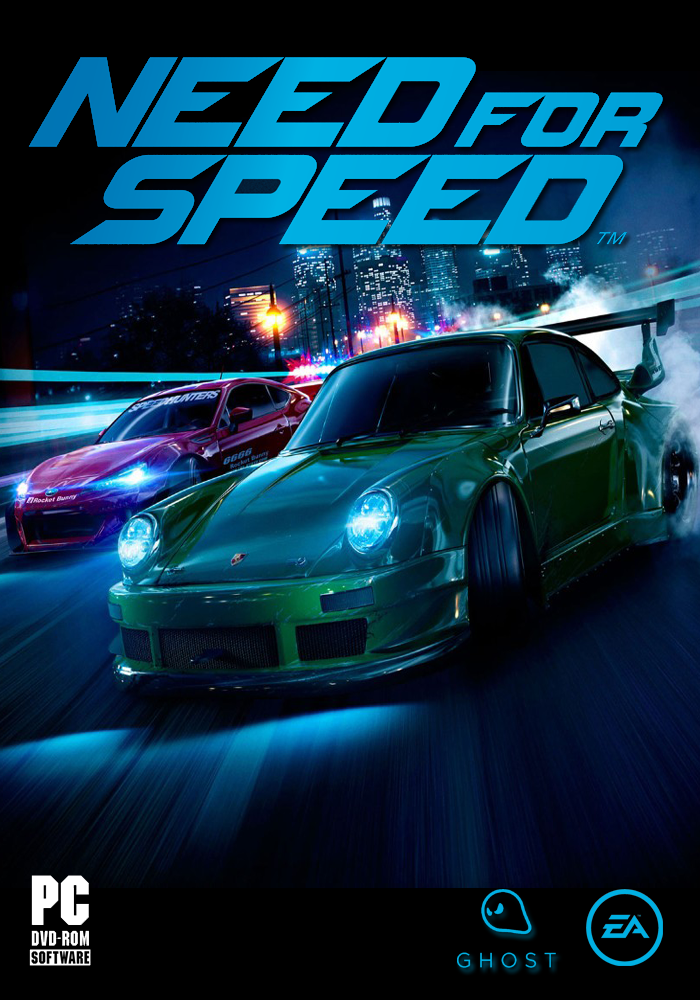 Need for Speed 2015 (My PC cover Design-Final) by Mighoet