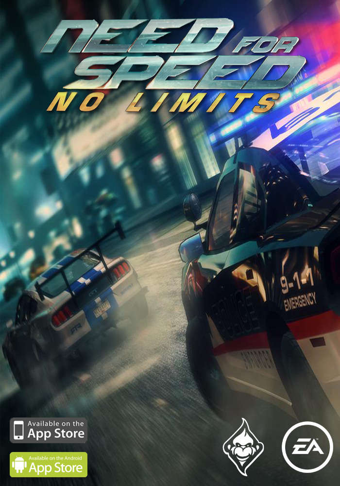 Need for Speed: No Limits (Concept Cover) by Mighoet