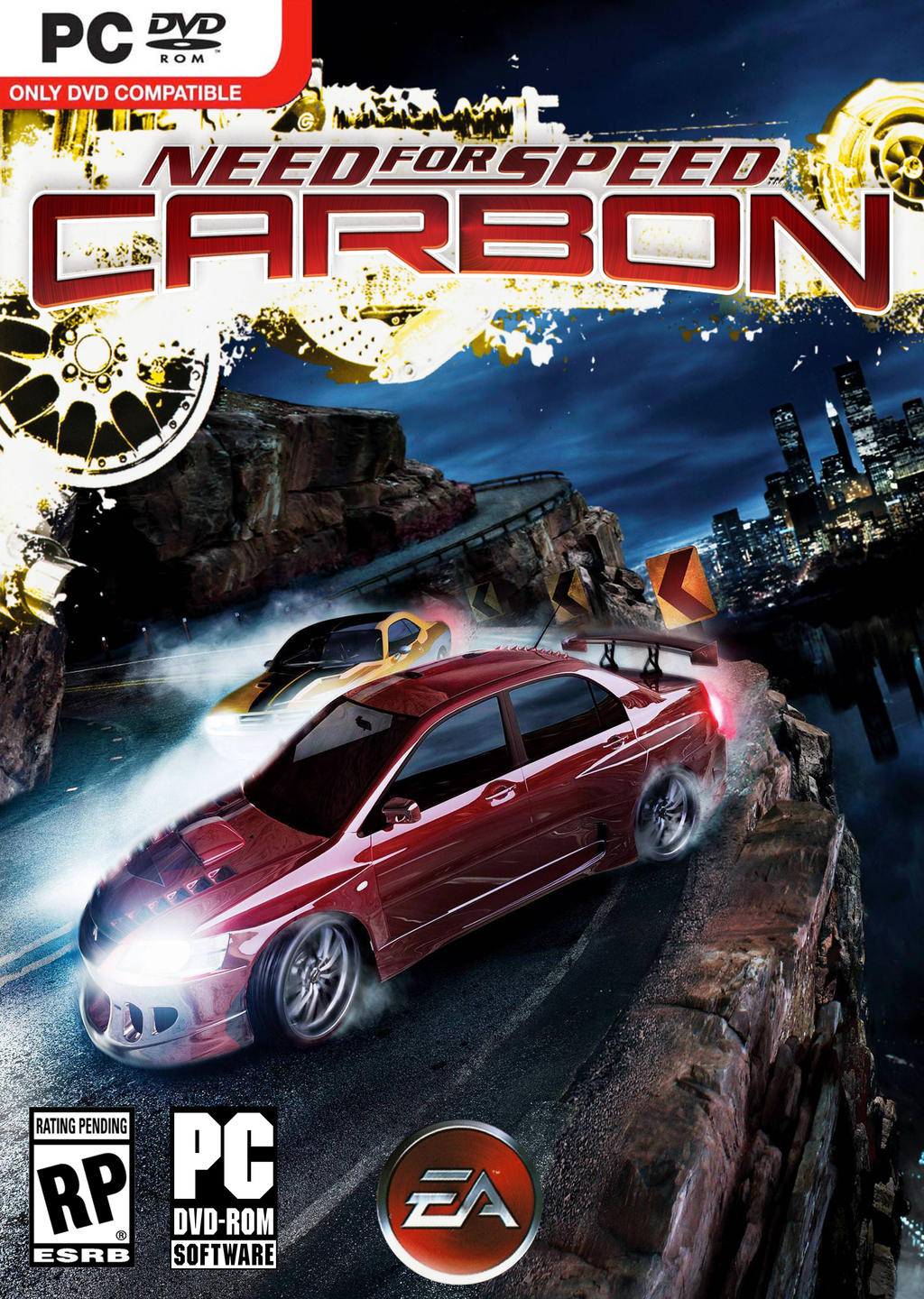 Need for Speed Carbon High Resolution PC Cover by Mighoet on