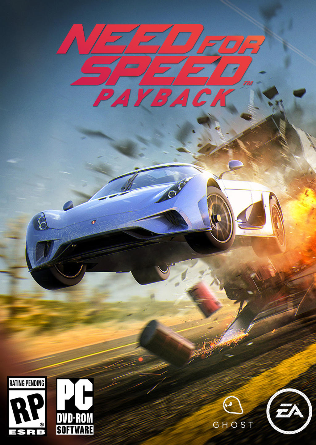 Need for Speed Payback Alternative Cover by Mighoet on